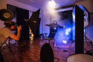 Shooting im Fotomietstudio Lynxstudio.Berlin