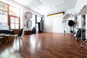 Räumlichkeiten des Mietstudios Lynxstudio Berlin